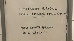 London Bridge Attack Prompts Londoners To Share Messages Of