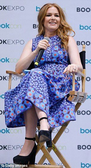 Isla Fisher at BookExpo Children's Author Breakfast