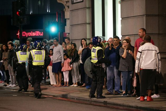 Attackers went on the rampage in the London Bridge area on Saturday