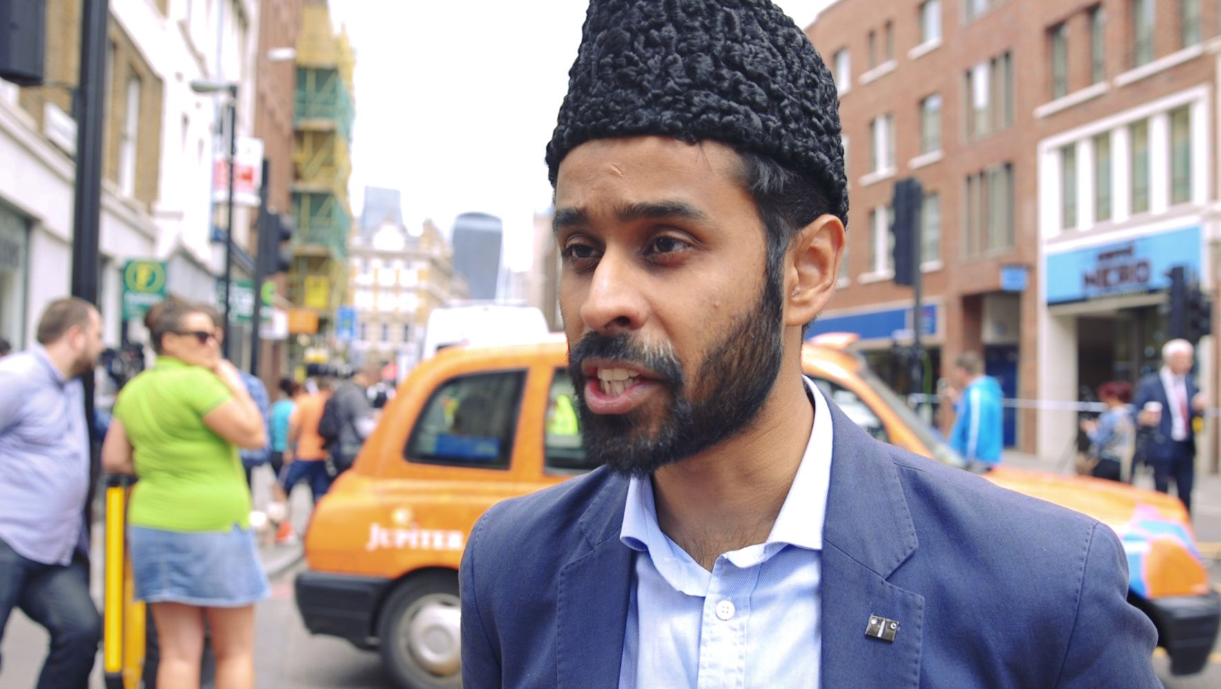 Ahmadiyya Muslim Community ImanAbdul Quddus Arif said his 'heart was bleeding' over the attack...