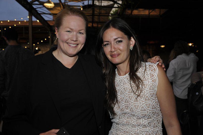 LA Times' Test Kitchen Director, Noelle Carter and Deputy Editor, Jenn Harris.
