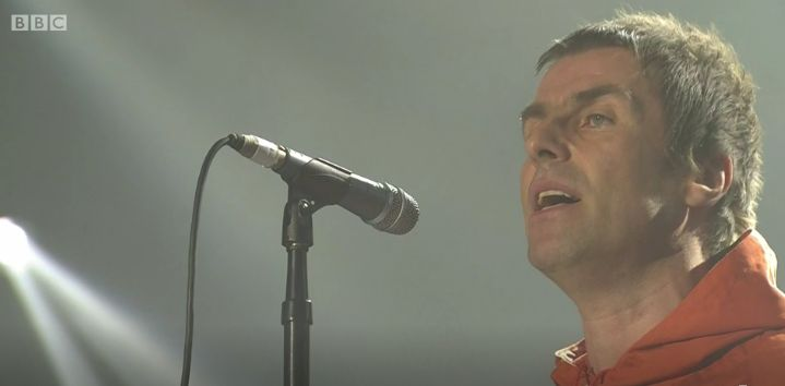 Liam Gallagher was the surprise guest at One Love