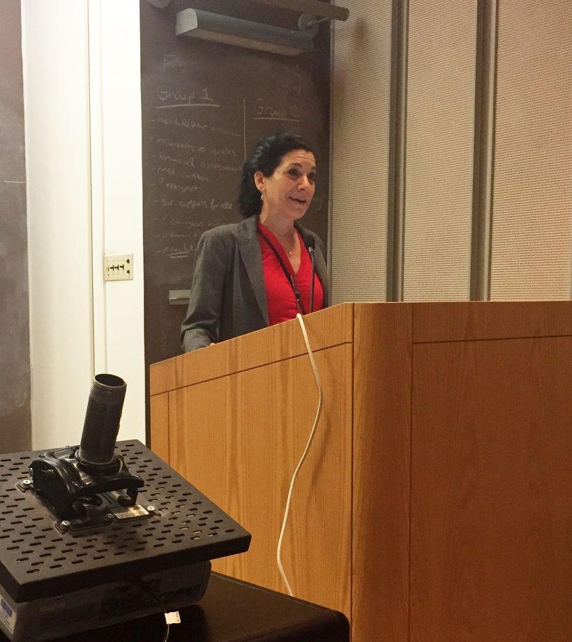 Deborah Estrin, PhD during her opening keynote
