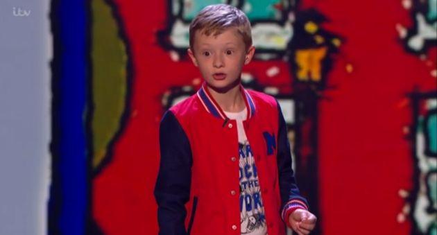 'Britain's Got Talent' Final: Ned Woodman Mocks Simon Cowell During Last Comedy
