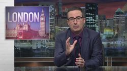 John Oliver Rips American Media For Coverage Of London