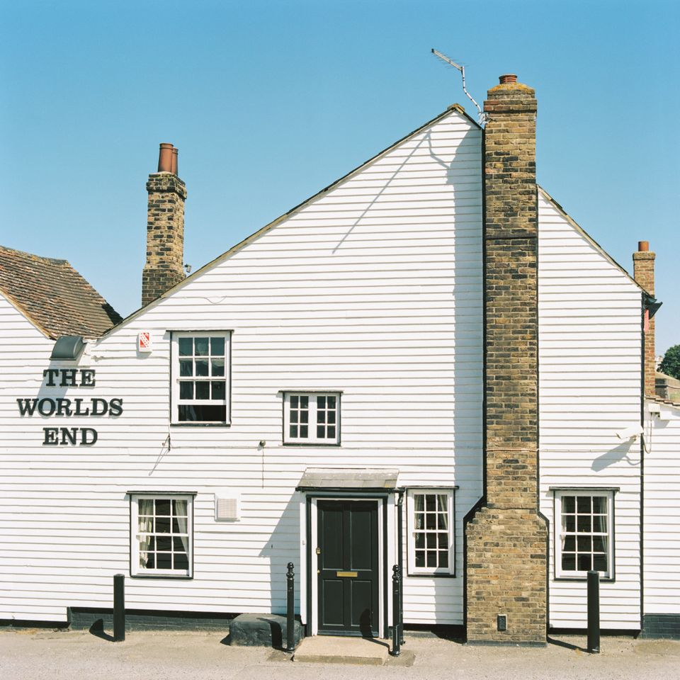 The Worlds End pub in Tilbury on Aug. 12,