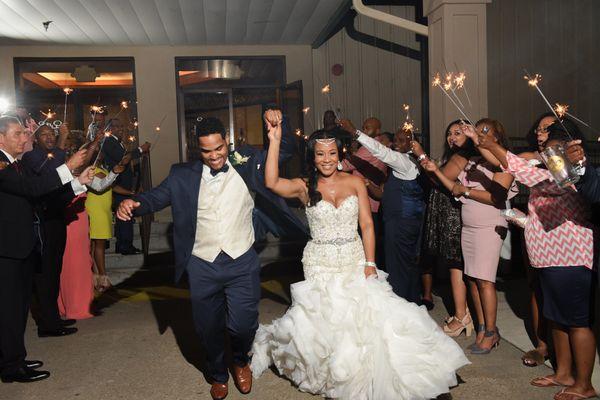 """Candace and Jarvis Joseph married in Baton Rouge, Louisiana."" --<i>Cierra Johnson</i>"
