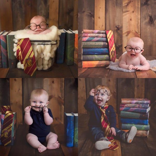 Finley is still growing up with Harry Potter!