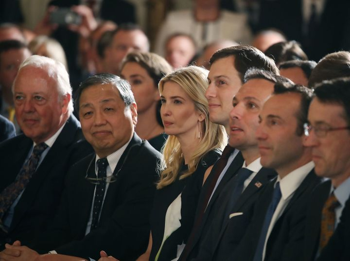 Ivanka Trump attends an event in Washington, DC on Monday.