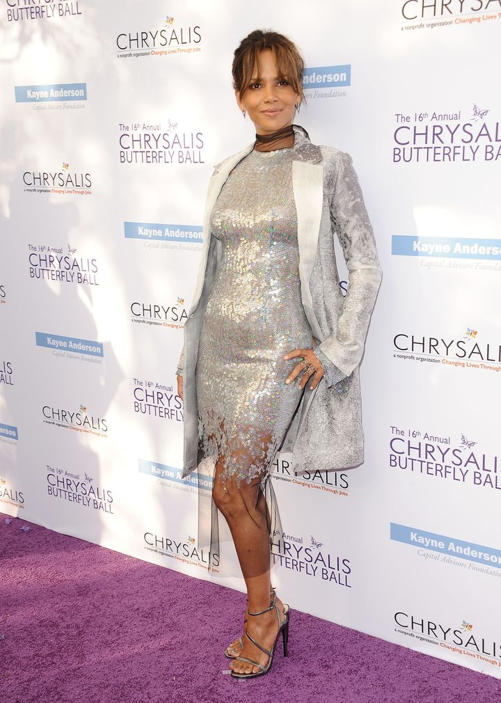 Halle Berry attends the 16th annual Chrysalis Butterfly Ball.