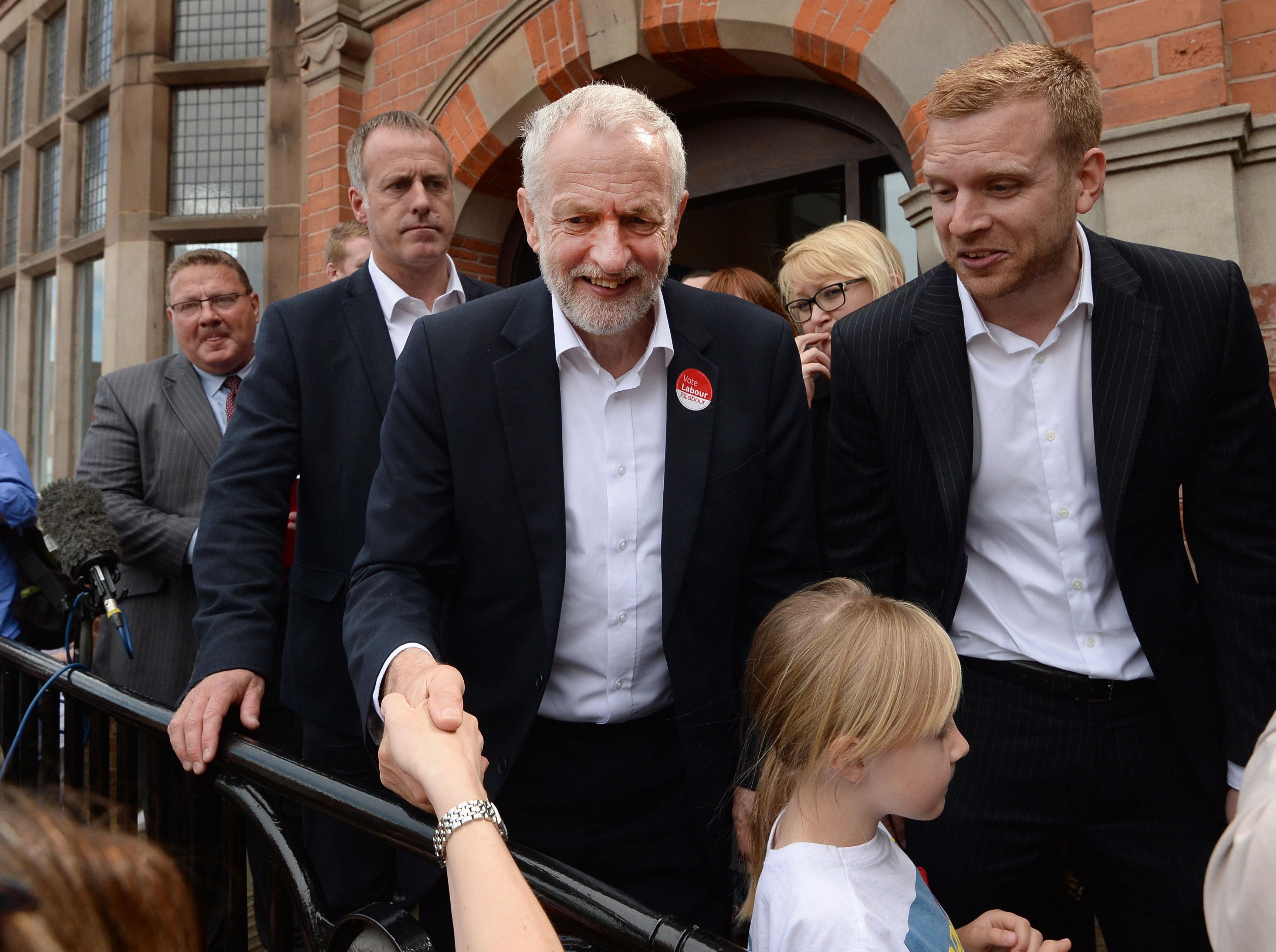 Jeremy Corbyn on the campaign
