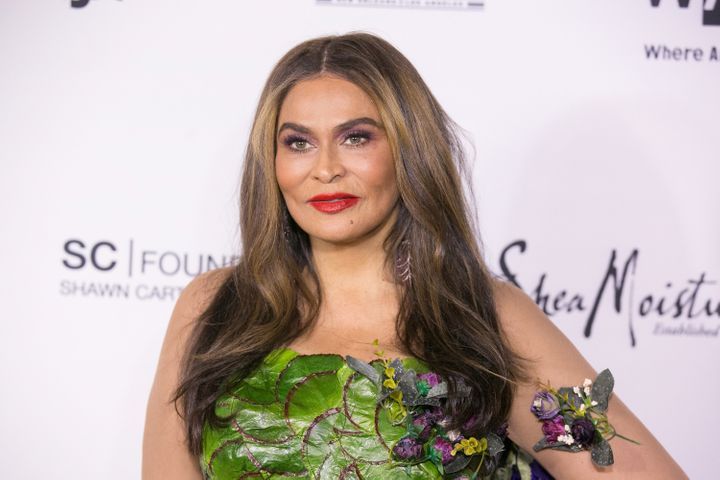 Tina Knowles-Lawson opened up about her role as a grandmother.
