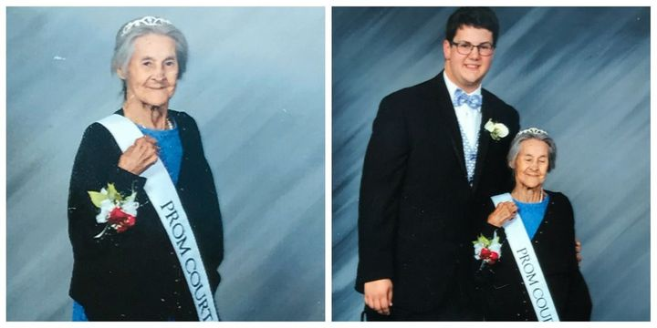 Grandson Takes Grandma To Prom After Finding Out She\'s Terminally ...