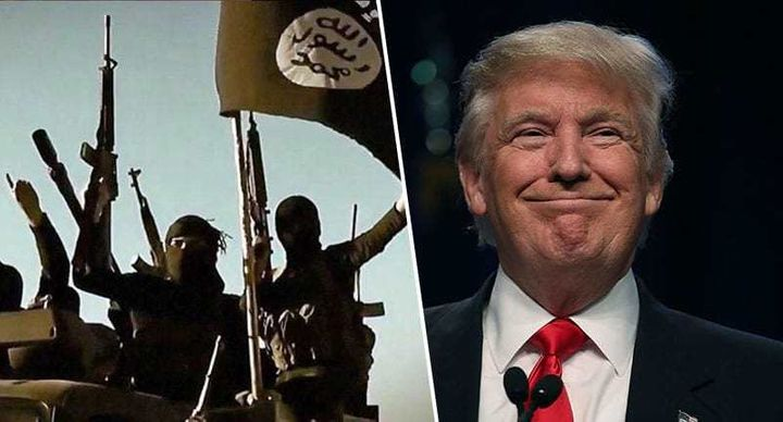 Trump's hateful divisive message against muslims only works in favor of ISIS.
