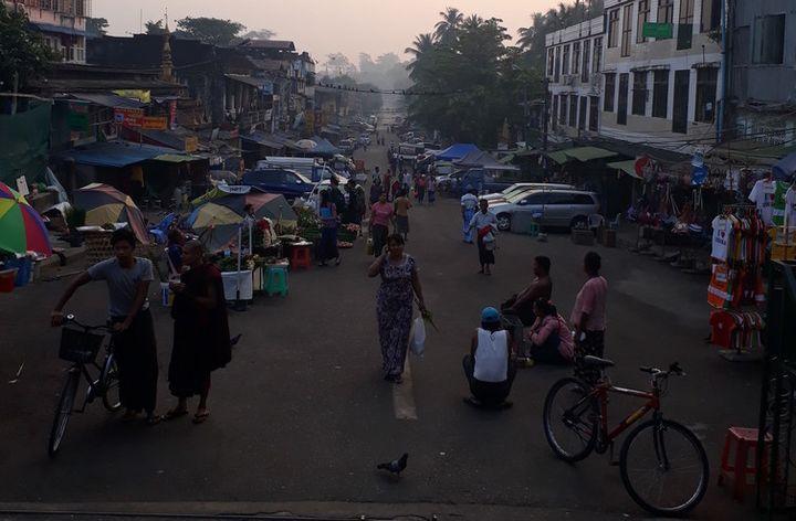 Yangon's 'ballet of the street'.