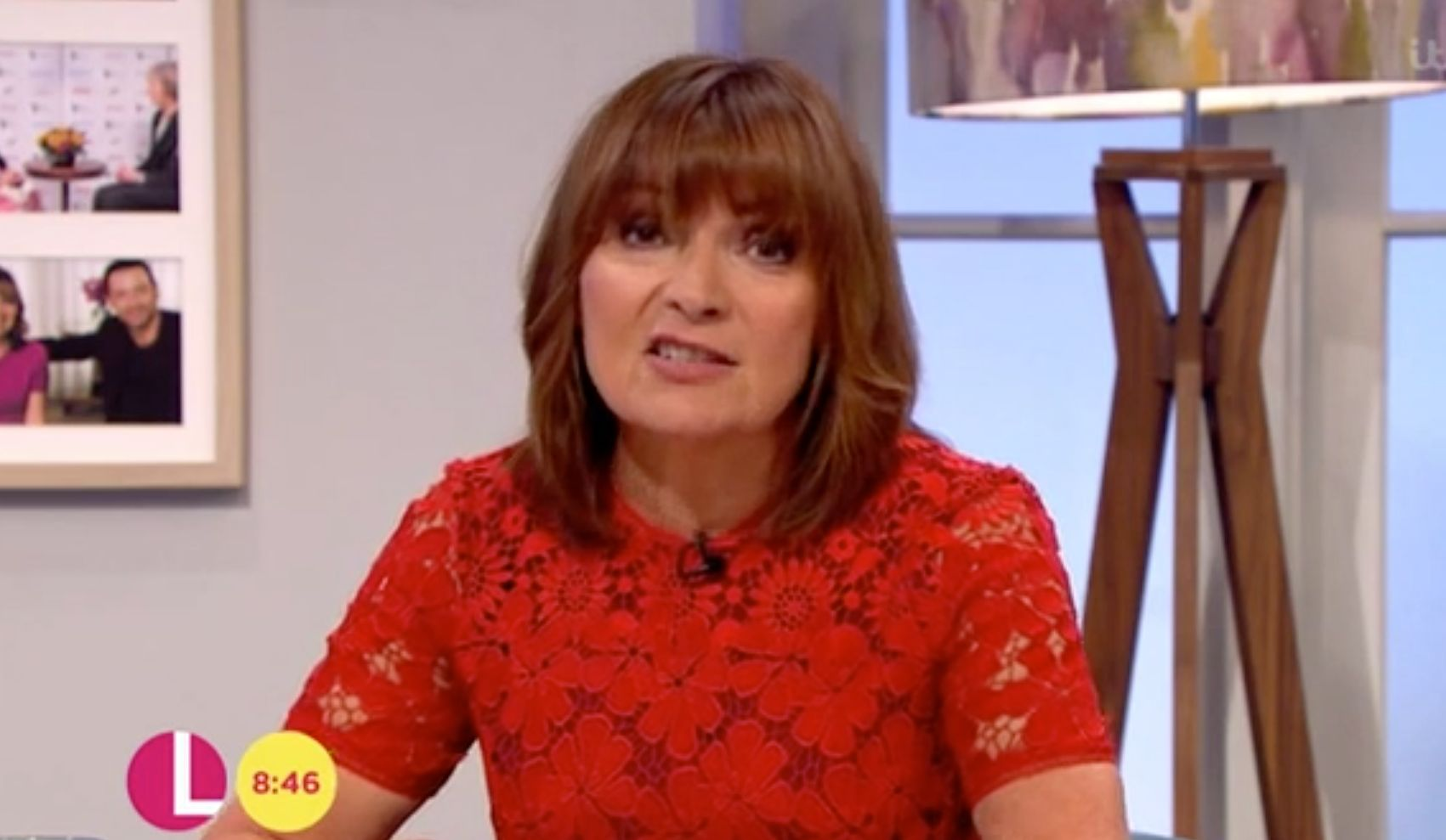 Lorraine Kelly Fights Back Tears While Reporting On Funeral Of Manchester Bombing Victim Eilidh