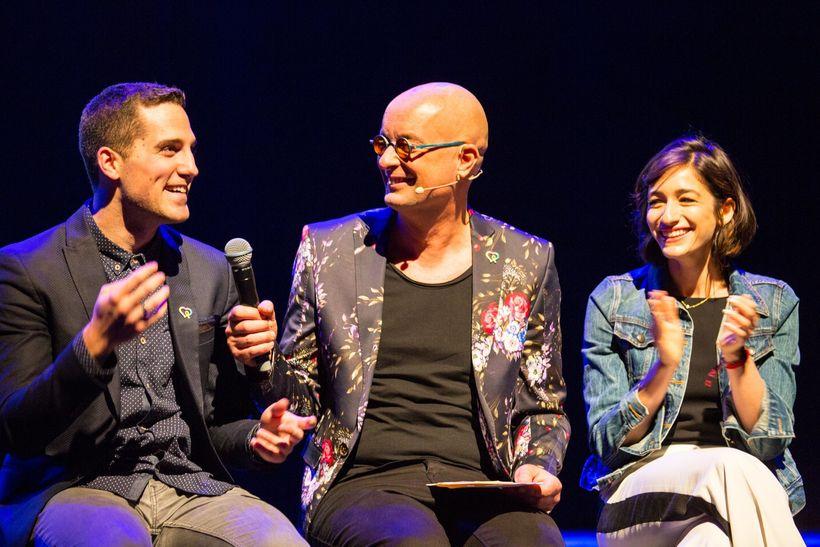From left: Jesse Ruben, Fred Verdult, Jen Jacob