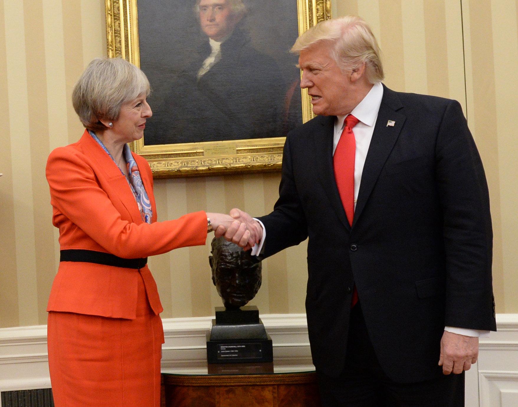 Theresa May Finally Criticises Donald Trump For Attacking Sadiq