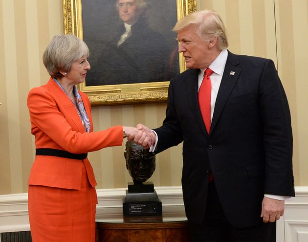 May meeting Trump at the White House in