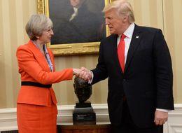 Theresa May Finally Criticises Donald Trump For Attacking Sadiq Khan