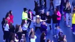 Parents Thank Dancing Policeman For Making Kids Feel Safe At One Love