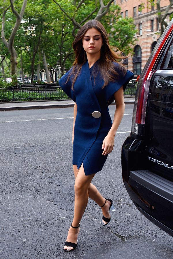 Out in New York City.