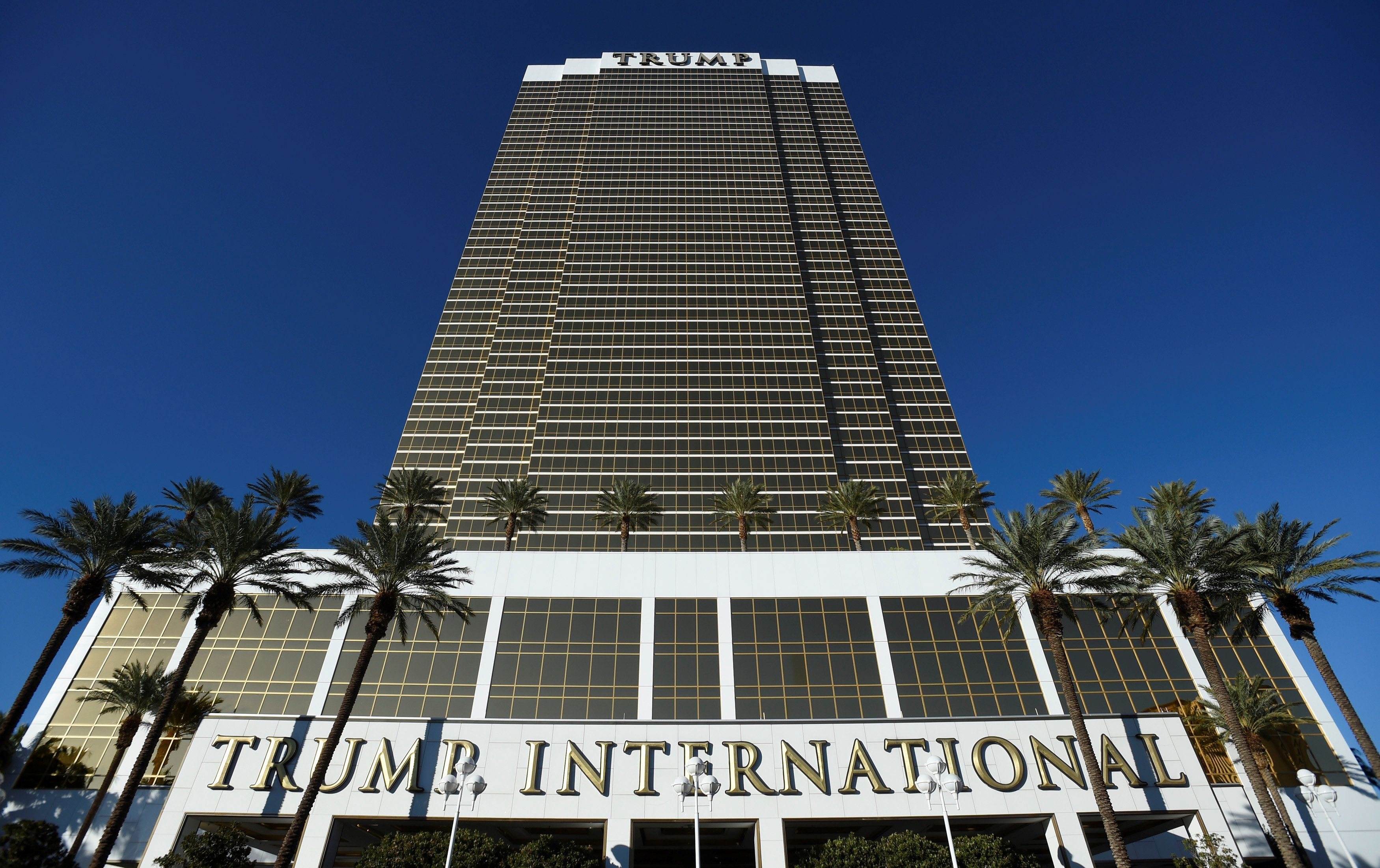 The Trump International Hotel & Tower owned by President-elect Donald Trump is seen in Las Vegas, Nevada, U.S. November 9
