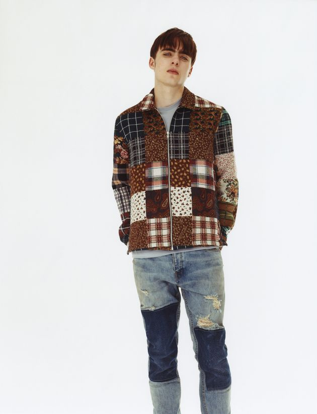 Liam Gallagher's Son Lennon Models Topman's 'Youth Clash'