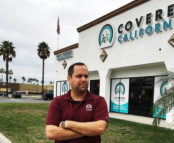 George Balteria stands in front of his Huntington Beach store.