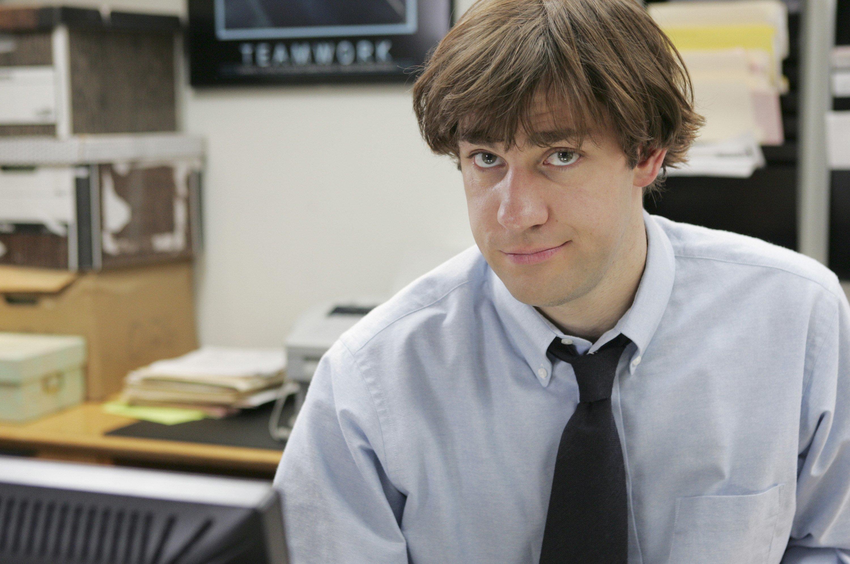 THE OFFICE -- 'Health Care' Episode 3 -- Aired 04/05/2005 -- Pictured: John Krasinski as Jim Halpert -- Photo by: Justin Lubin/NBCU Photo Bank