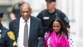 NORRISTOWN, PA - JUNE 05: Actors Bill Cosby and Keshia Knight Pulliam are seen arriving for the first day of trial at Montgomery County Courthouse on June 5, 2017 in Norristown, Pennsylvania. (Photo by Gilbert Carrasquillo/WireImage)