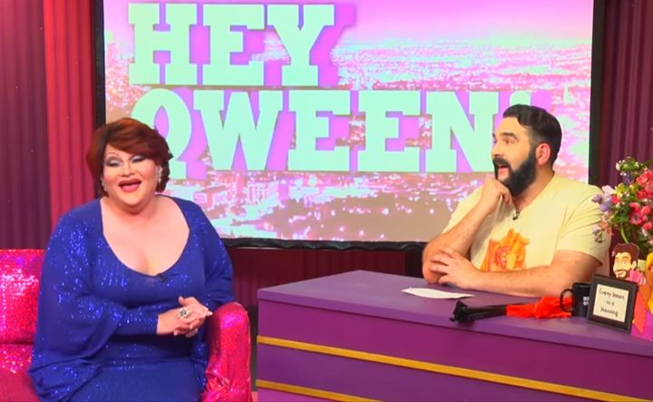 Victoria Porkchop Park and Jonny McGovern on Hey Qween