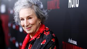 HOLLYWOOD, CA - APRIL 25:  Author Margaret Atwood attends the premiere of Hulu's 'The Handmaid's Tale' at ArcLight Cinemas Cinerama Dome on April 25, 2017 in Hollywood, California.  (Photo by Rich Fury/Getty Images)