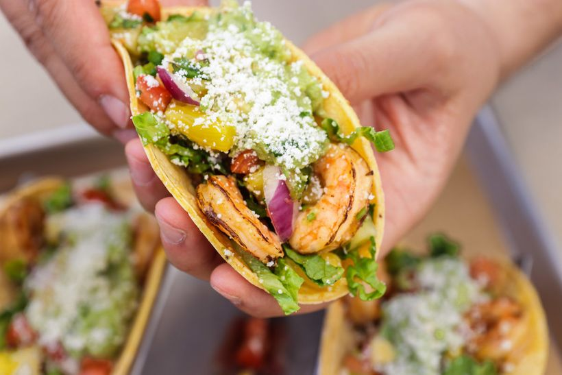 Qdoba Brings The Heat With Fire Roasted Shrimp This Summer Huffpost