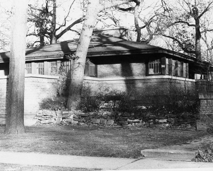 The Edwin Cheney house in Oak Park, IL.