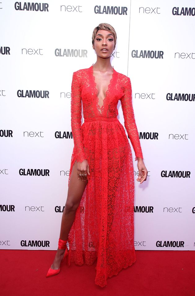 Jourdan Dunn attends the Glamour Women of The Year awards 2017 at Berkeley Square Gardens on June 6 2017...