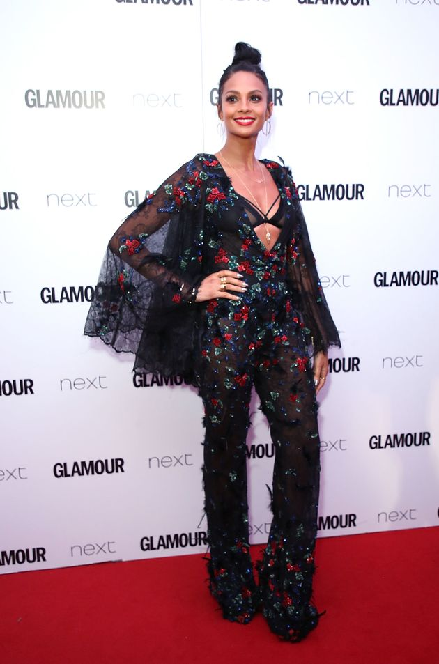 Alesha Dixon attends the Glamour Women of The Year awards 2017 at Berkeley Square Gardens on June 6 2017...