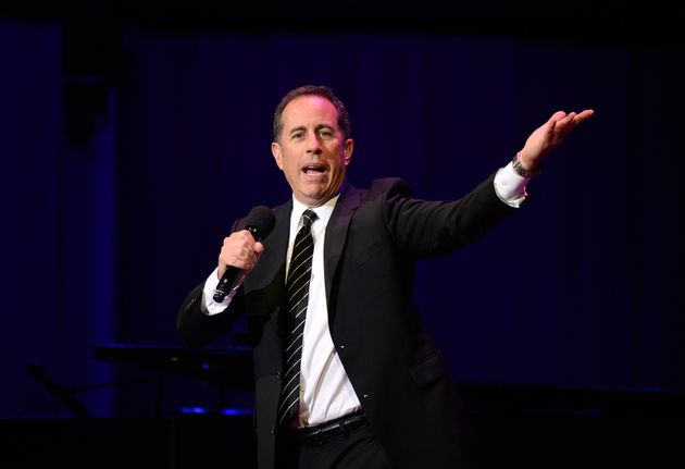 Jerry Seinfeld performs onstage at the National Night Of Laughter And
