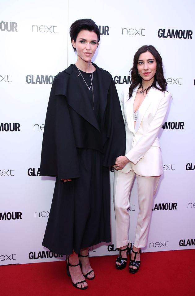 Ruby Rose and Jessica Origliasso attend the Glamour Women of The Year awards 2017 at Berkeley Square...