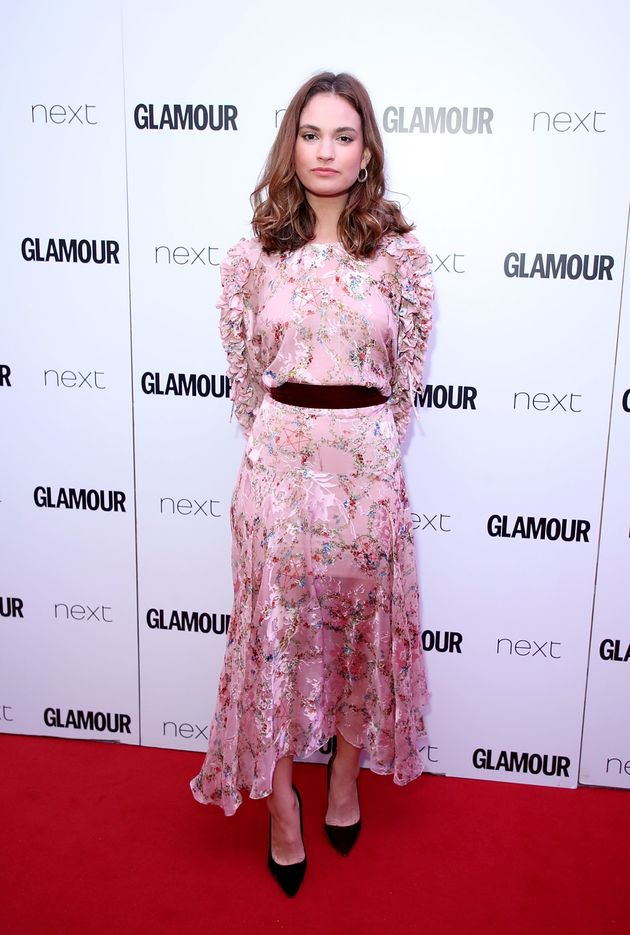 Lily James attends the Glamour Women of The Year awards 2017 at Berkeley Square Gardens on June 6 2017...