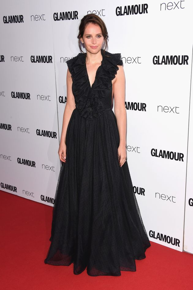 Felicity Jones attends the Glamour Women of The Year awards 2017 at Berkeley Square Gardens on June 6...