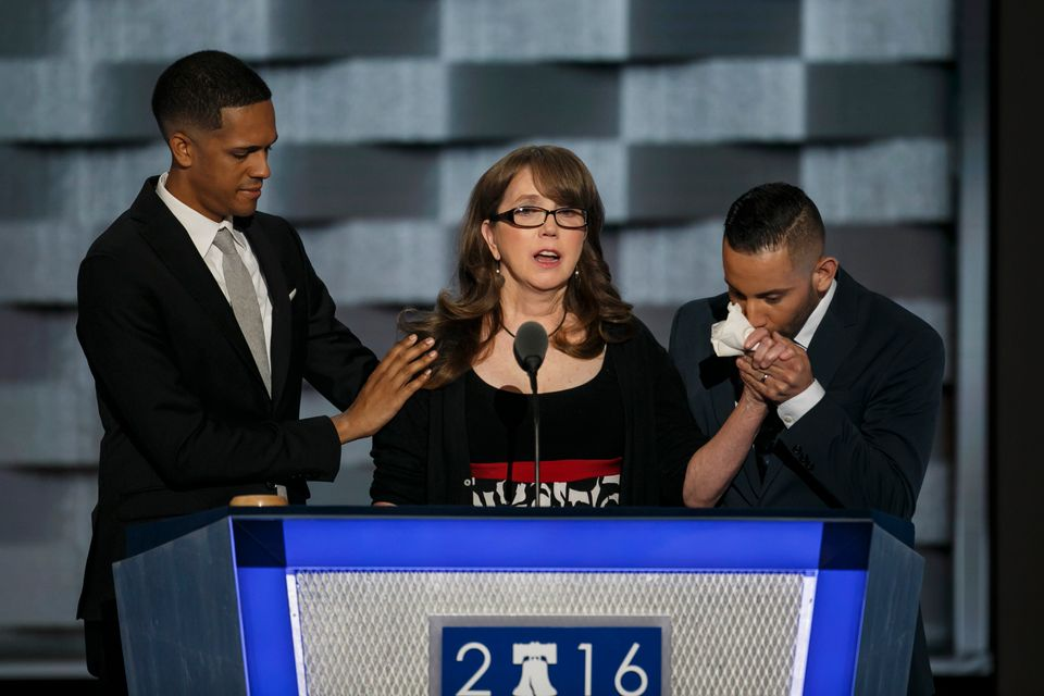 PHILADELPHIA, PA. -- WEDNESDAY, JULY 27, 2016: Brandon Wolf, from left, Christine Leinonen and Jose Arraigada...