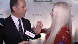 Watch Jerry Seinfeld Reject A Hug From Kesha Three Times In a