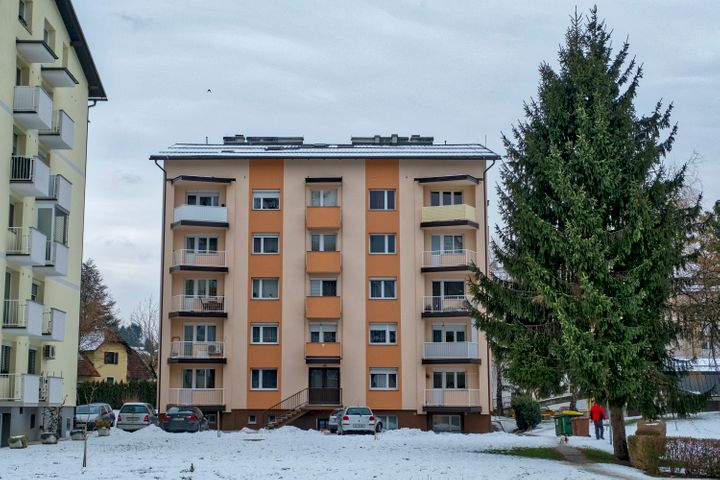 You too could visit famous Melania Trump landmarks on a first lady tour of Sevnica, Slovenia. This is anapartment block