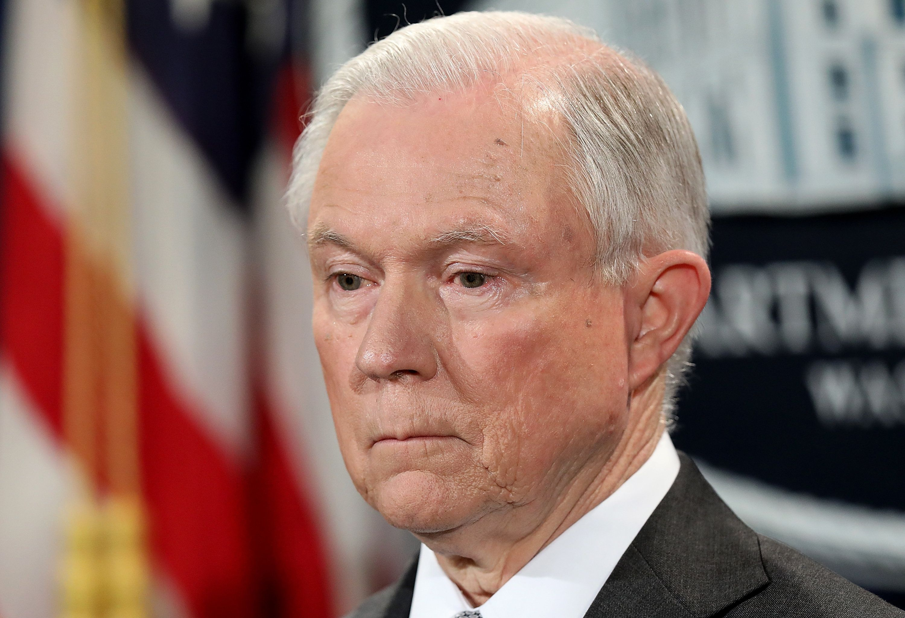 Jeff Sessions Resigns As Attorney General At President Trump's Request