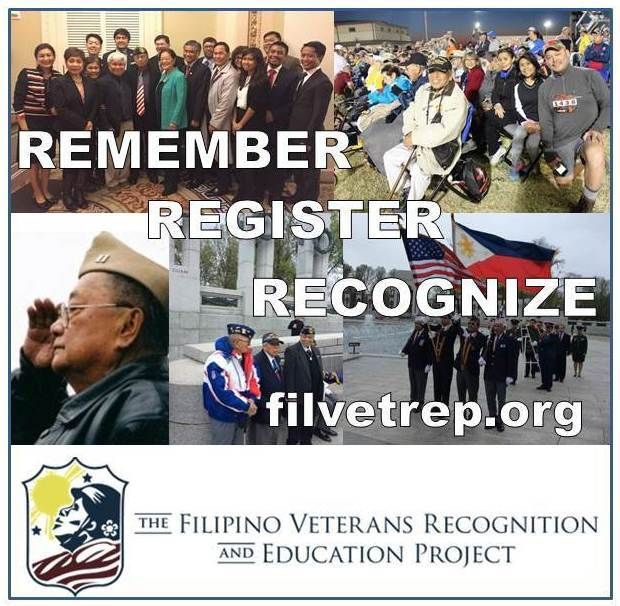 Remember, Register, Recognize: 100 Days for Filipino WWII Veterans