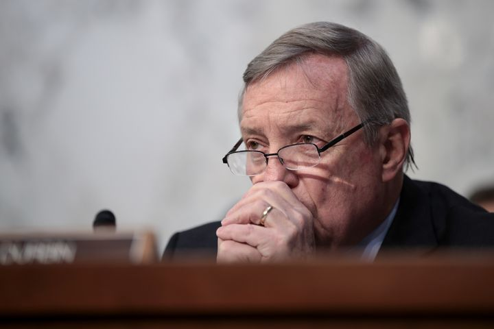 Democratic Sen. Dick Durbin said he's talked about health care, broadly speaking, with one Republican colleague.