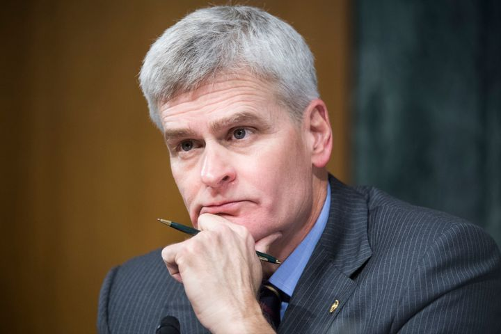 Republican Sen. Bill Cassidy suggested he was comfortable with the bill still being written, though he noted he hadn't seen f