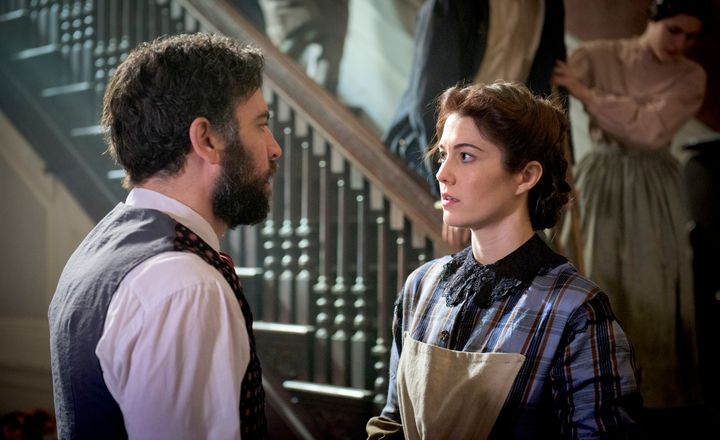 Josh Radnor and Mary Elizabeth Winstead in <em>Mercy Street</em>