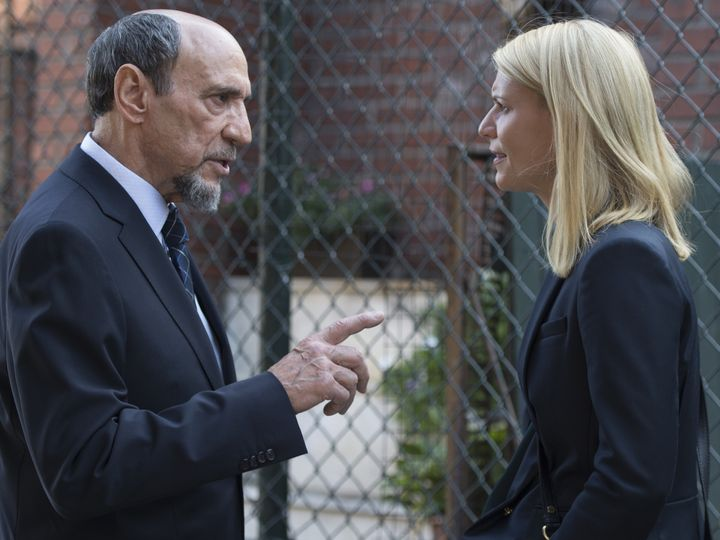 F. Murray Abraham and Claire Danes in <em>Homeland</em>.